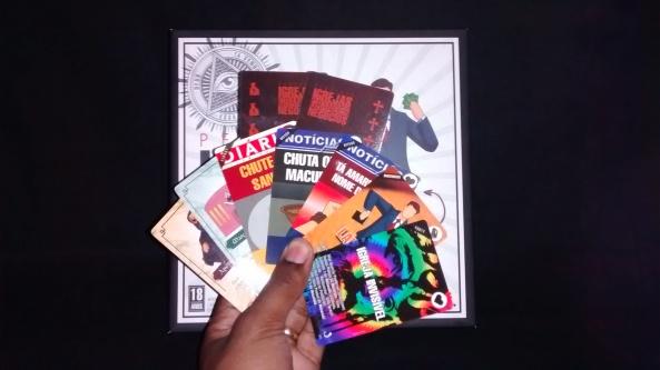 os tipos principais de cartas do jogo
